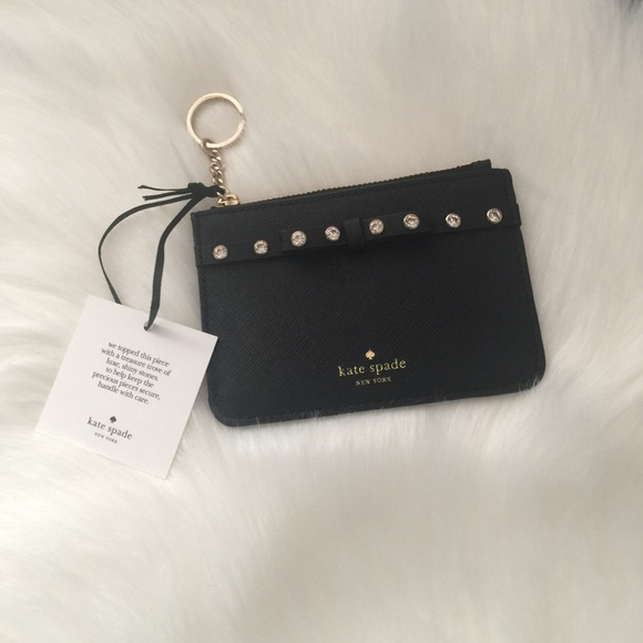 kate spade Handbags - KATE SPADE ♠️ Bitsy Laurel Way Jeweled Wallet